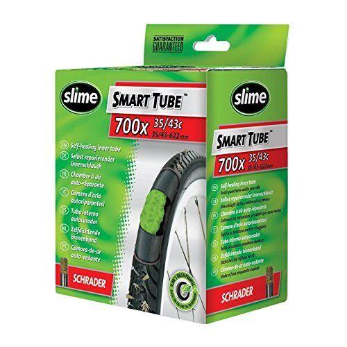 "700 X 35-43 mm 1-4 X Slime Auto-guérison MTB Inner Tube Schrader Valve 28/"""
