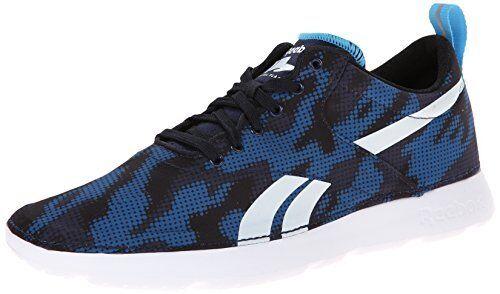 Royal semplici scarpe reebok uomini scarpe corsa da corsa scarpe blu / bianco / nero / marina grande 10 pennino a433a7