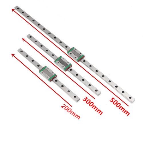 MGW 7//9//12//15 Miniature Railway Guide SLED Linear Sled cncwerkzeug 500