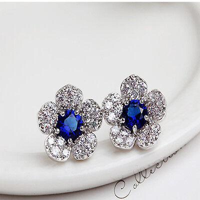 Fashion Femmes Lady Filles élégante cristal strass oreille Clous d/'oreilles Hot