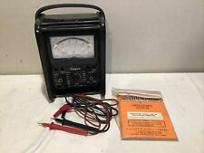 Simpson 260 Series 8 Vintage Overload Analog Volt Ohm Milliammeter Multimeter