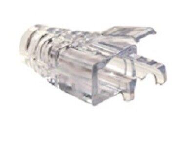 Platinum Tools Ez Rj45 Strain Relief Connector Boot For Cat 5e Utp - Pack Of 100 Comfortabel En Gemakkelijk Te Dragen