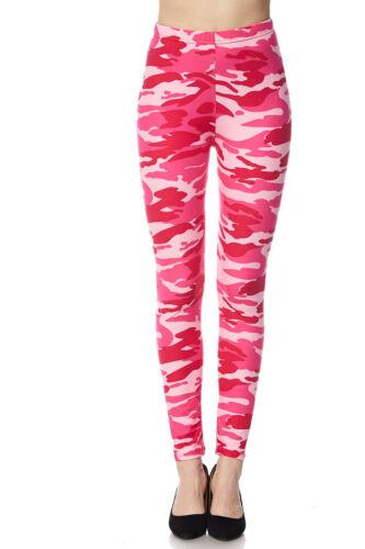 5d03f0fb7e3dc ... PLUS SIZE Valentines Gift Print Buttery Soft Pink Camo Leggings TC  CURVY 12-18