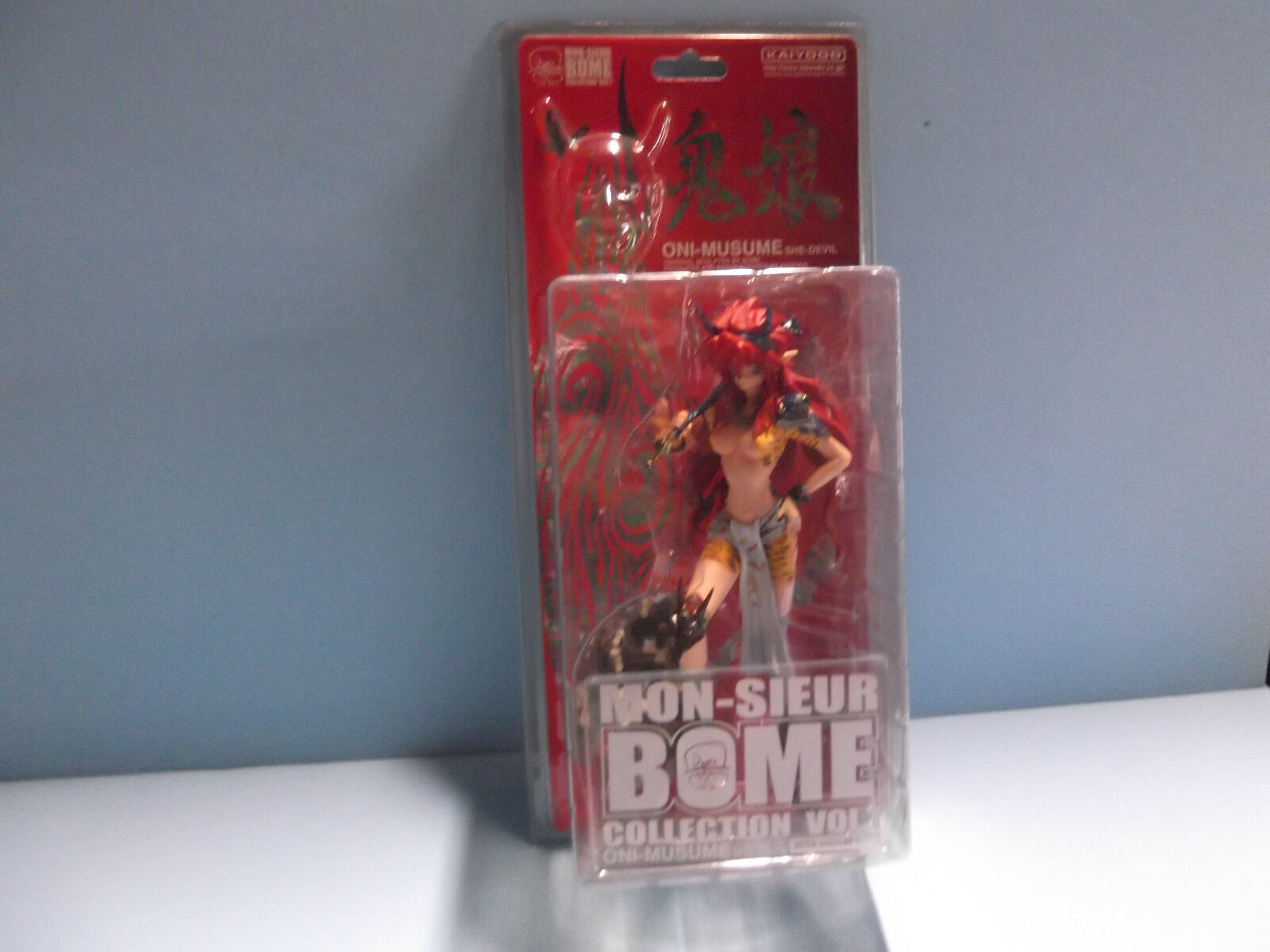 MON-SIEUR BOME Oni-Musume 8 in Sexy Redhead She-Devil Lion Pattern Outfit HOT