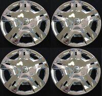 2010 2011 2012 Nissan Versa 15 Chrome Hubcap Wheelcover Set Am