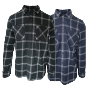 Vans-Off-The-Wall-Men-039-s-Dispatched-L-S-Flannel-Shirt-Retail-55