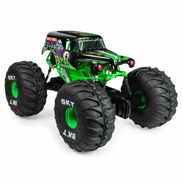Monster Jam 6046198 1 6 Scale Remote Control Monster Truck With Lights Multicolour For Sale Online Ebay