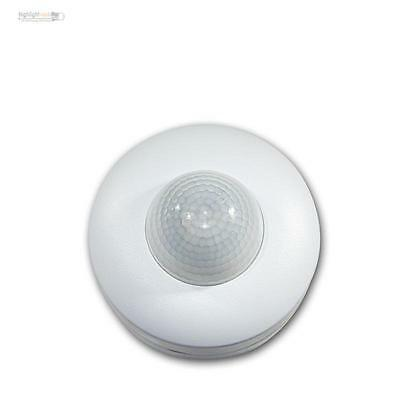 Motion sensor 360° white for Cover, LED suitable, AP - detector 230V 3x PIR