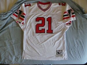 new styles 9c14a 0a100 Details about Mitchell Ness M&N Atlanta Falcons Deion Sanders Authentic  Jersey 52 2X USA RIPON