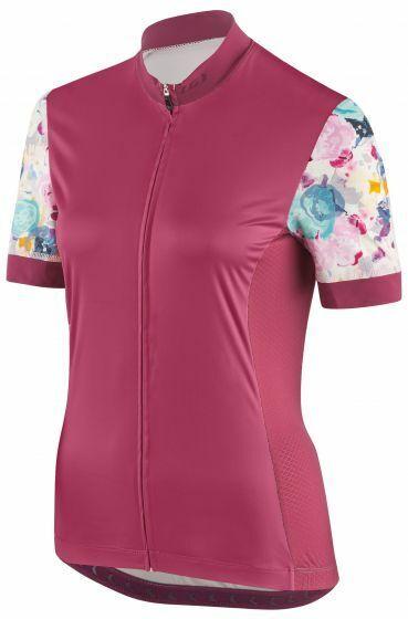 2019 Louis Garneau Women's Art Factory Cycling Jersey - medium - Shiraz   Pink