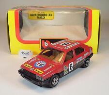 Bburago 1/43 cod.4124 Alfa Romeo 33 Rally OVP #1503