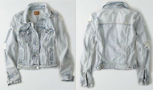 Womens jean jacket american eagle