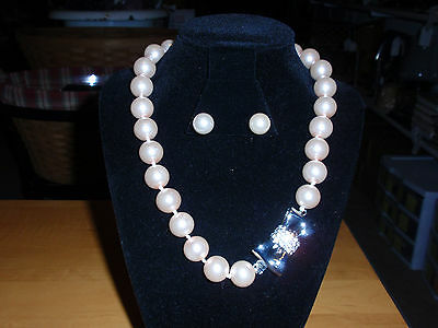 """Pink Pearls/crystals Park Lane Jewelry New!! """"kate """" Necklace & Earrings In Many Styles"""