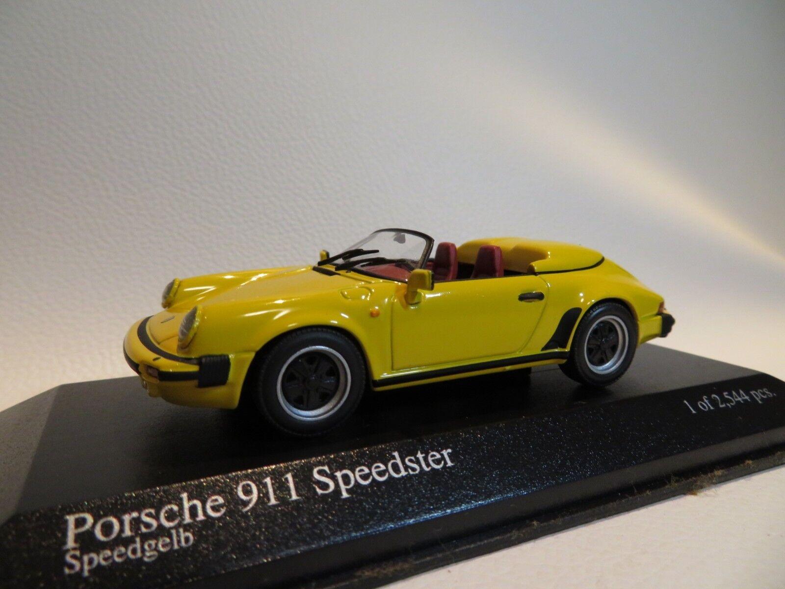 1 43 MINICHAMPS Porsche 911 Speedster (1988) diecast