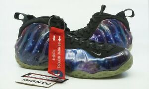 f6f408e9766 NIKE AIR FOAMPOSITE ONE NRG USED SIZE 14 GALAXY OBSIDIAN ANTHRACITE ...
