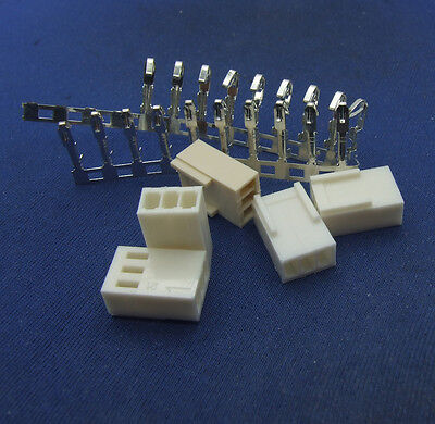 20 sets Connector plug 2510-3Pin  Molded + 3 core Copper terminals