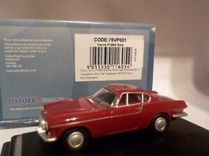 Volvo-P1800-Red-Model-Cars-Oxford-Diecast
