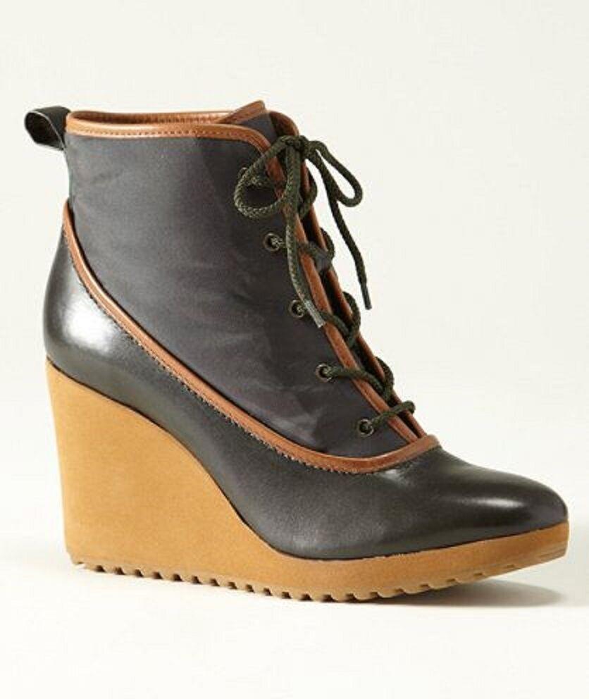 venta caliente L.L. L.L. L.L. Bean Zapatos firma ducktrap Bota Botines De Cuña Con Plataforma Cordones 7  tienda en linea