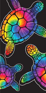 30x60 Large Tie Dye Rainbow Turtle Cruise Vacation Pool Gift Bath Beach Towel Ebay