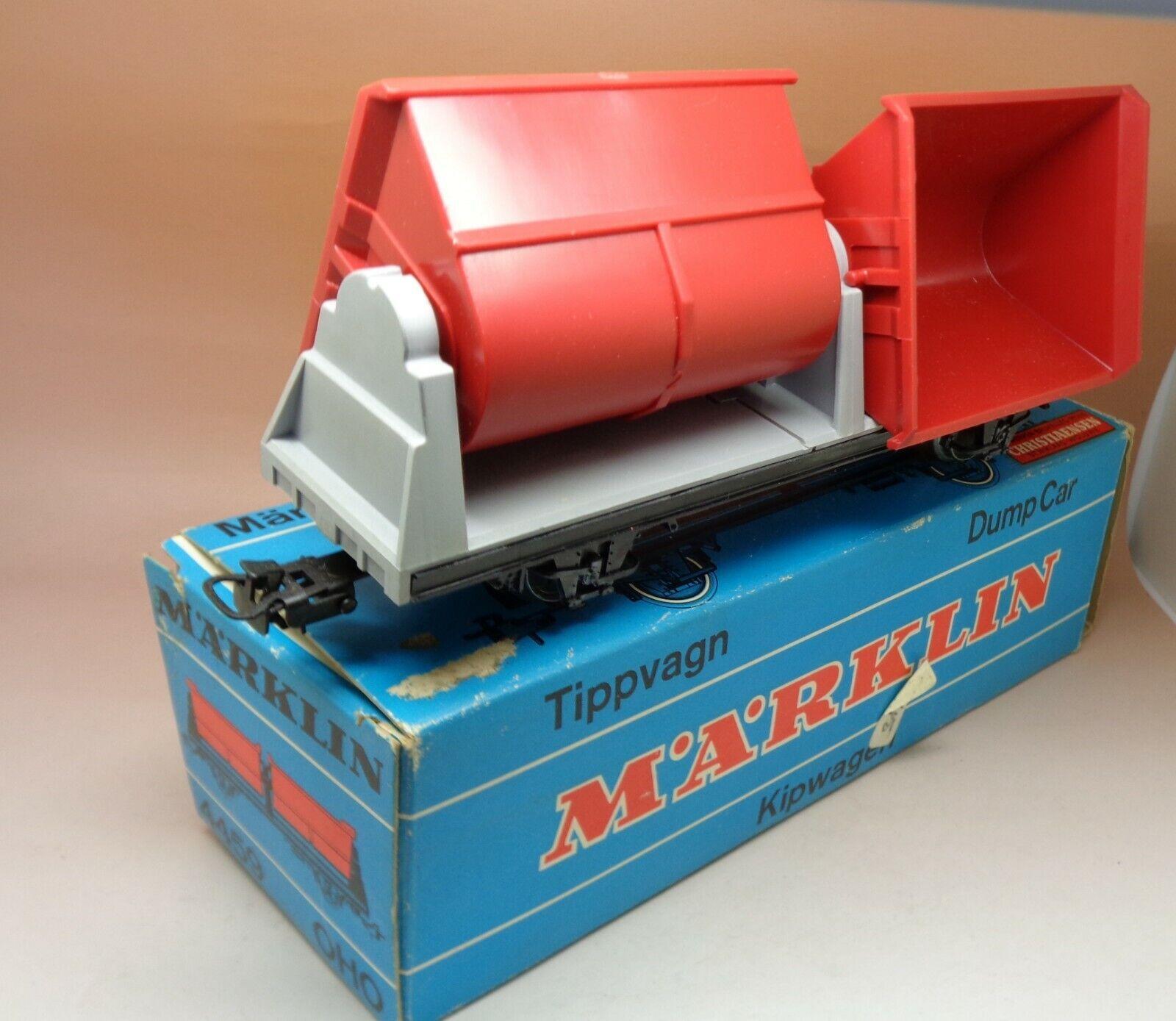 Marklin Wagon Benne Ref 4459 Ech Oho Plastiqueexcellent Condition Original Box