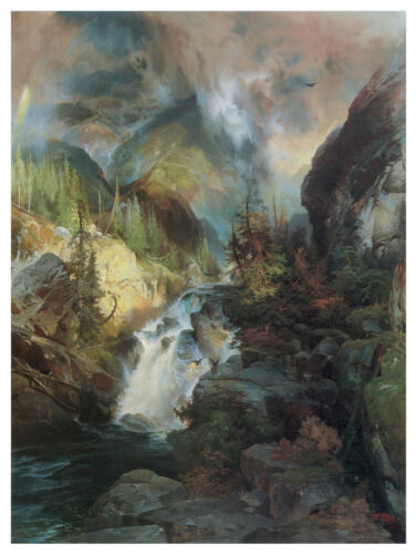 1350 River Current wall Art Decoration POSTER.Graphics to decorate home office