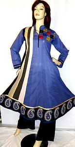 Shalwar-Kameez-Eid-Salwar-Pakistani-Designer-Anarkali-Sari-Abaya-Hijab-Suit-10