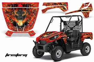 Details about UTV Graphics Kit Decal Sticker Wrap For Kawasaki Teryx 750  2010-2012 FIRESTORM R