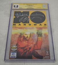 X-O Manowar 1 CGC 9.8 Golden Apple Signed Bob Layton Bill Sienkiewicz Variant