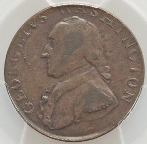 1795 1/2 P Washington North Wales Halfpenny PCGS XF45