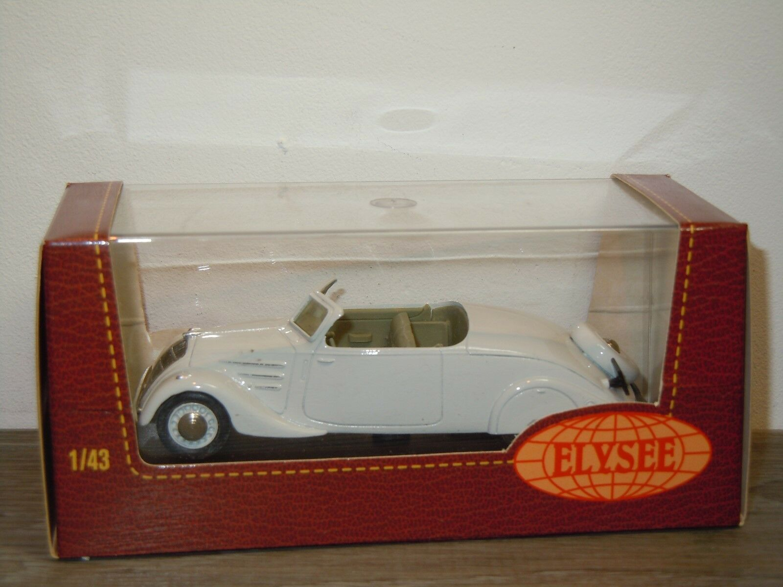 Peugeot 402 eclypse 1936 - elysee - 532 frankreich 1 43 in kasten  35327