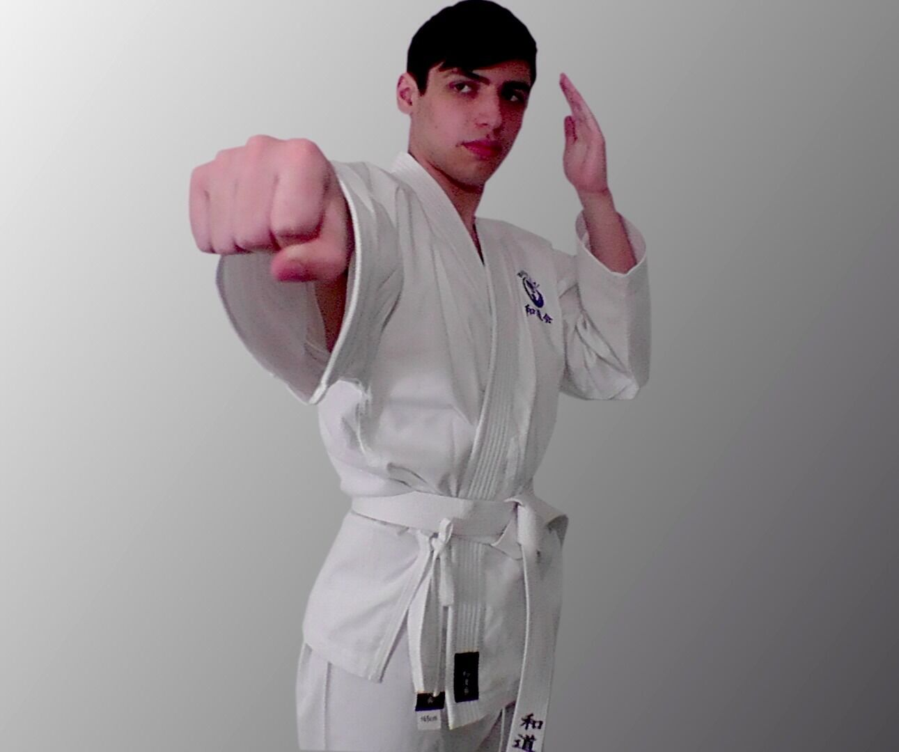 Karate Suit 175cm Uniform New Wadokai Training White Kimono Martial Arts Gi