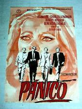 THE HEIST Original CRIME Movie Poster CHARLES AZNAVOUR VIRNA LISI ROBERT HOSSEIN