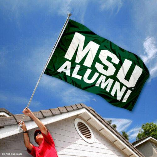 MSU Alumni Spartans Michigan State University 3/' x 5/'