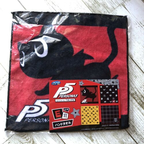 SEGA Persona 5 hand towel NEW 9.8-Inch x 4 set free shipping with tracking#