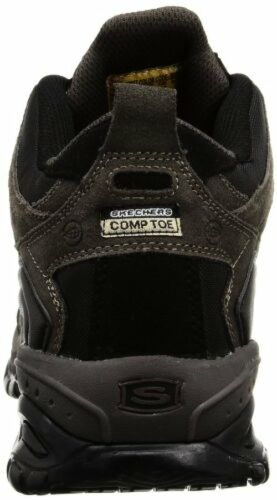 Pick SZ//Color. Skechers for Work Mens Relaxed Fit Soft Stride Canopy Comp Toe