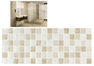 Bagno Con Mosaico Beige : Rivestimento bagno progetto baucer iside mosaico beige cm mq