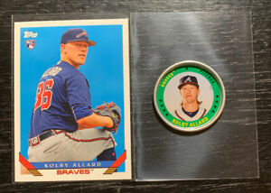 Kolby-Allard-2019-Topps-Archives-RC-Coin-Lot-Atlanta-Braves
