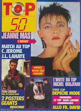 TOP 50 040 (8/12/86) JEANNE MAS INDOCHINE TOM CRUISE