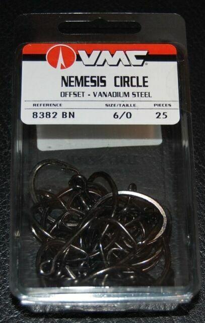 Pack Of 10x10 Details about  /Mustad MA024-BN 77700 Three Way Cross Barrel Swivel Black Nickel