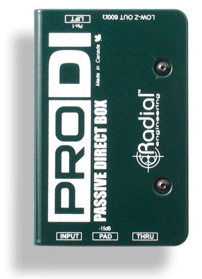 Radial ProDI Passive DI for high output acoustic , BEST OFFER R011