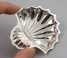 *RAR* Elegantes Kaviarschälchen in Muschelform aus 800er Silber