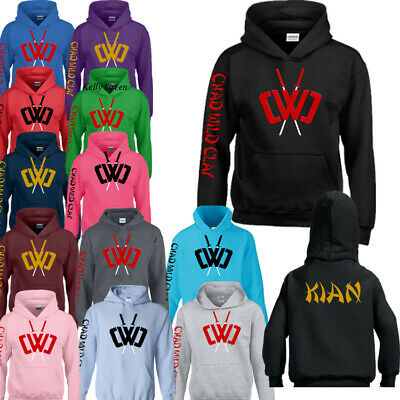 Boys Girls 3D Prestonplayz Hoodie Sweatshirt Chad Wild Clay Youtuber Jumper Tops