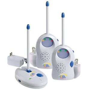 First-Years-Care-and-Safety-Two-2-Receiver-49-MHz-Baby-Monitor-Y3040-NEW