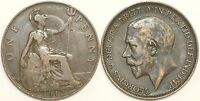1912, 1918 & 1919 George V Bronze Heaton Mint Penny Your Choice of Date