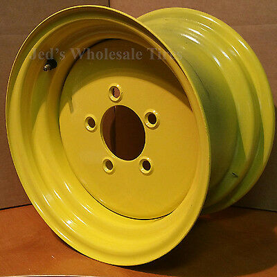 "12"" RIM WHEEL for John Deere Zero Turn Riding Lawn Mower Garden Tractor 12x7"