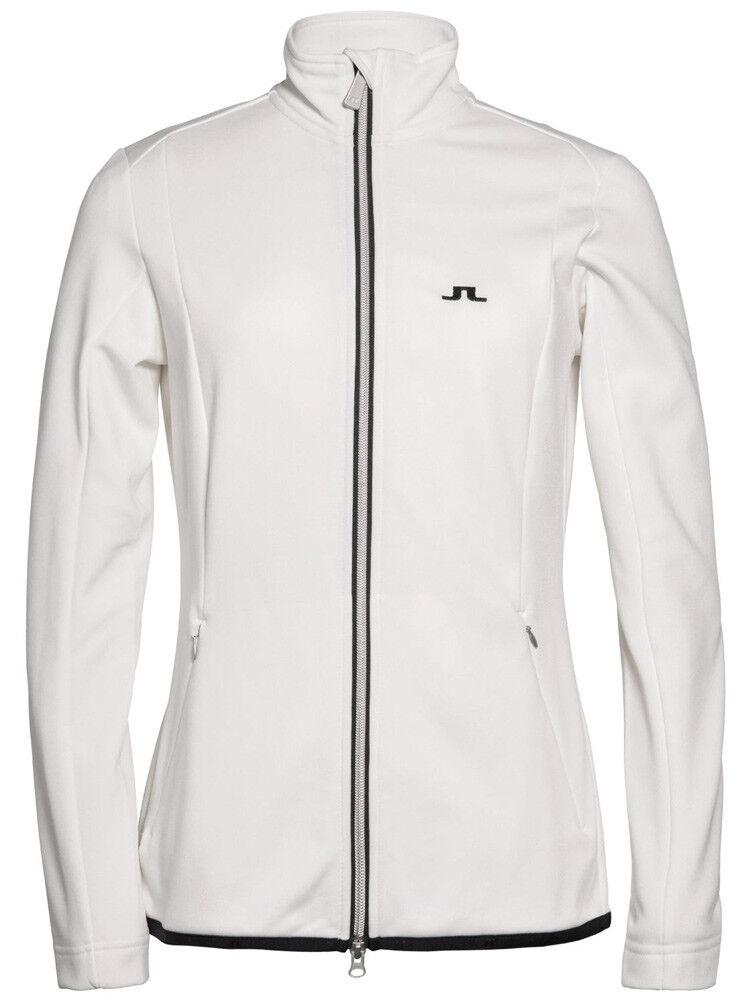 J. Lindeberg W Tanaga Jacket Tech Jersey - Weiß - statt 149,99 EUR