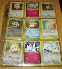 Pokemon Card/Tarjeta: 7 Togepi, 2 Togetic Card Set
