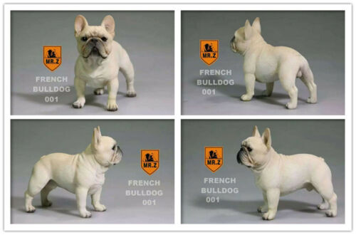 Z Stand French Bulldog Bull Dog Pet Figure Animal jouets de collection décoration M