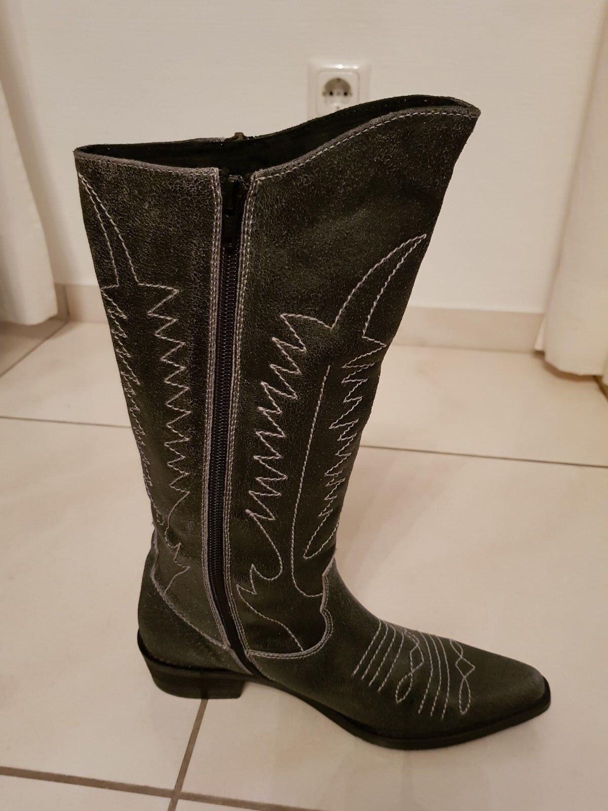 Original My Favourites Westernstiefel Cowboystiefel Cowboystiefel Cowboystiefel Stiefel Leder Gr. 37 NEU wild  | Up-to-date-styling  | Niedriger Preis und gute Qualität  2b1505