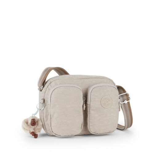 Kipling Bnwt Spf17 PetitTravers CorpsTracolla Beige Rrp74 Pastel C Patti bfYI6gv7y